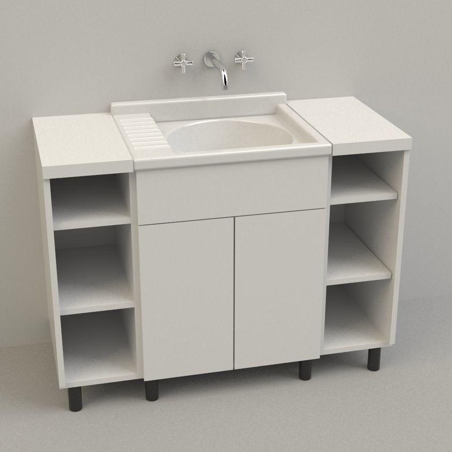 Lavabo 3d Dwg.Washbasin 3d Model 5 Obj Dwg 3ds 3dm Free3d