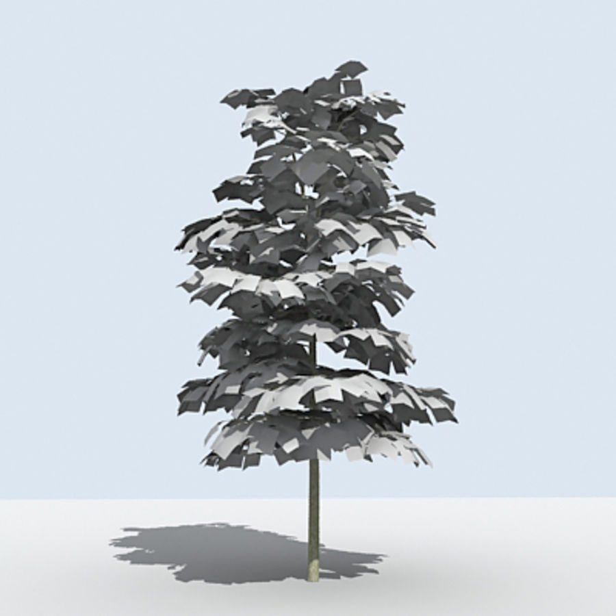 Arbre - OAK_01 royalty-free 3d model - Preview no. 2