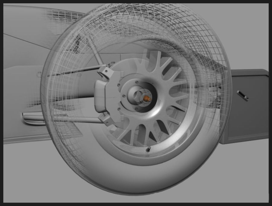 Formula Renault 2.0 royalty-free 3d model - Preview no. 8