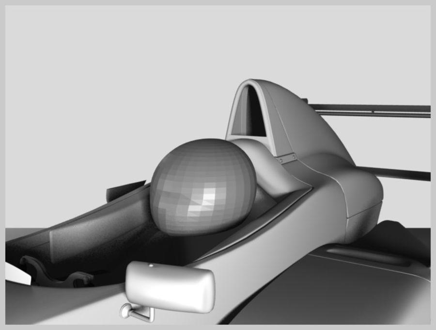 Formula Renault 2.0 royalty-free 3d model - Preview no. 3