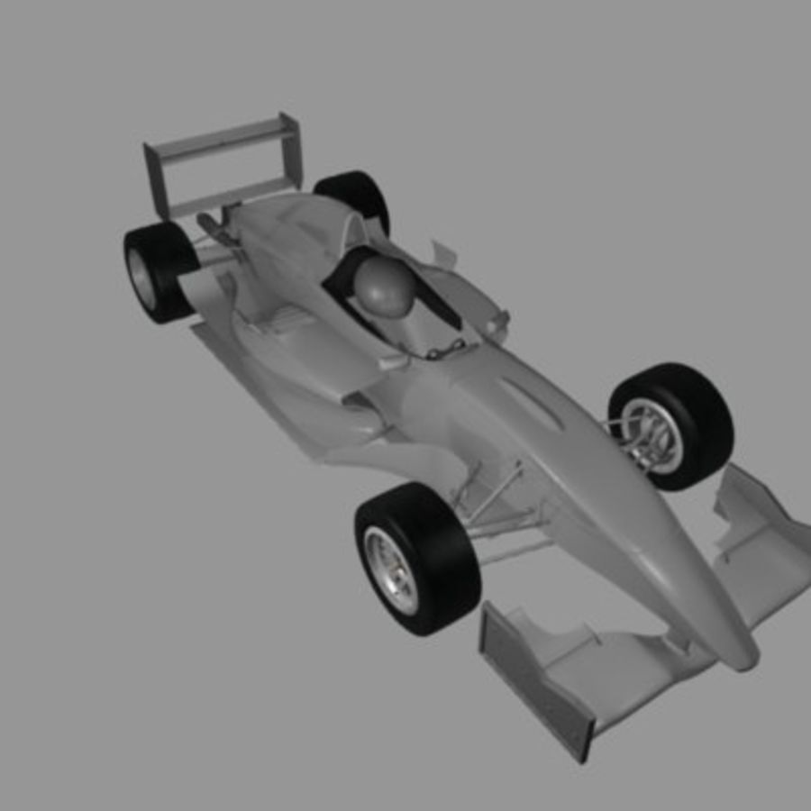 Formula Renault 2.0 royalty-free 3d model - Preview no. 10