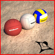 volleybal ball 3d model