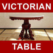 #752-AM Dinning Table 3d model