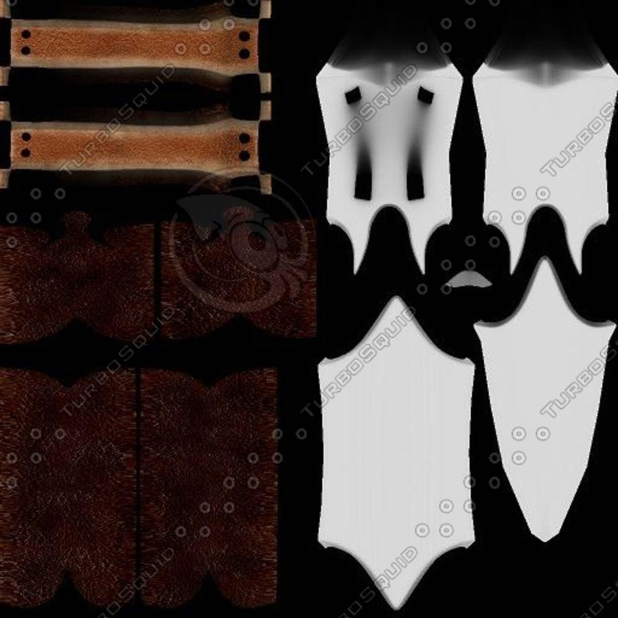Elegant Sword royalty-free 3d model - Preview no. 11