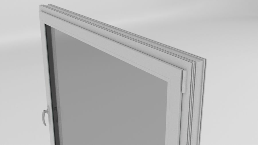 Ventana royalty-free modelo 3d - Preview no. 1