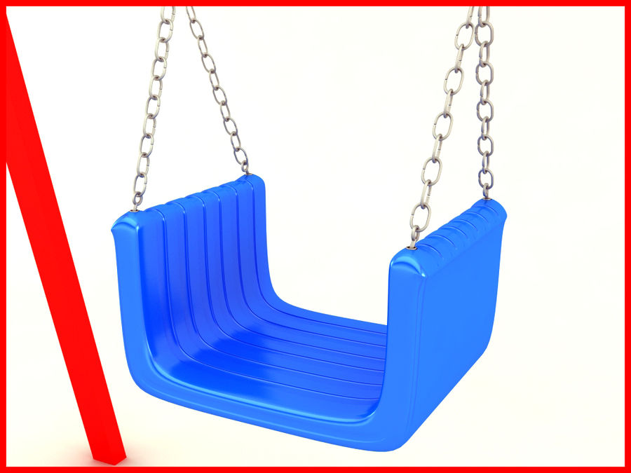 Single Swing royalty-free 3d model - Preview no. 8