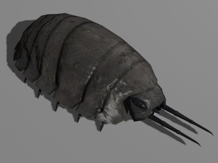 Monstrous Pill Bug 1 3d Model 5 Blend Dae Obj Oth 3ds X