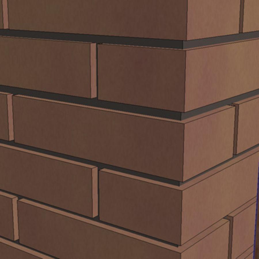 Cerca com portão royalty-free 3d model - Preview no. 11