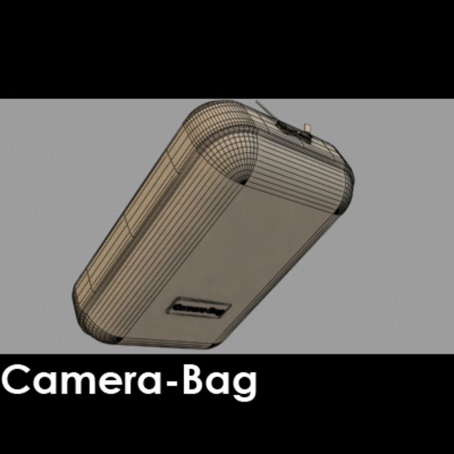 Camera Bag royalty-free 3d model - Preview no. 4