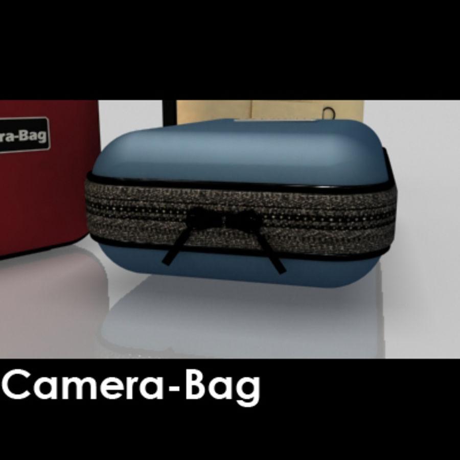 Camera Bag royalty-free 3d model - Preview no. 3