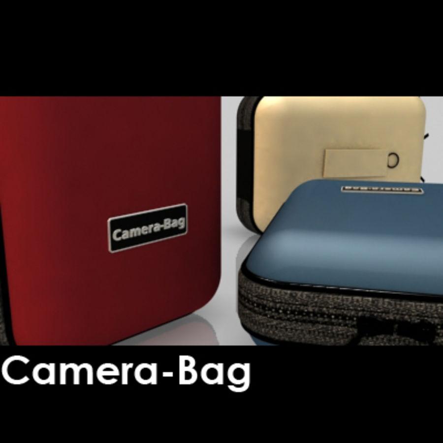 Camera Bag royalty-free 3d model - Preview no. 2