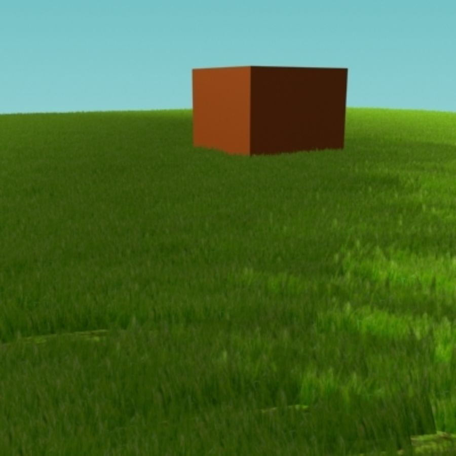 3D Grass royalty-free 3d model - Preview no. 11