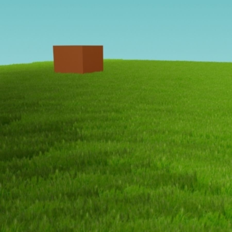 3D Grass royalty-free 3d model - Preview no. 10