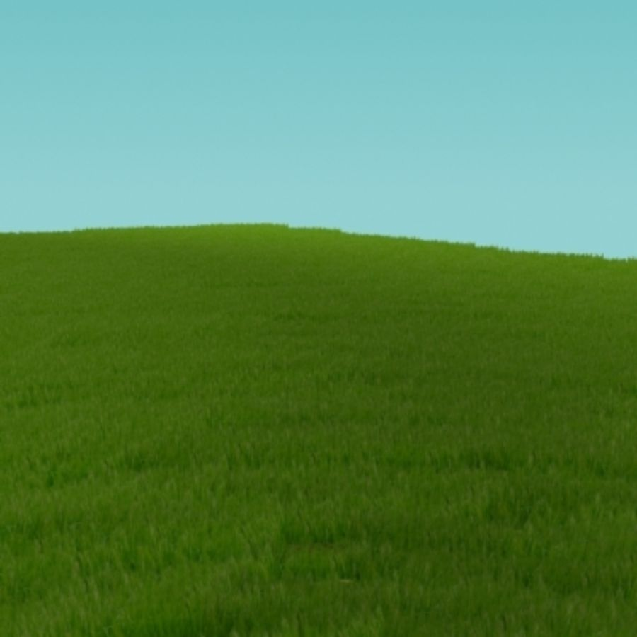 3D Grass royalty-free 3d model - Preview no. 4