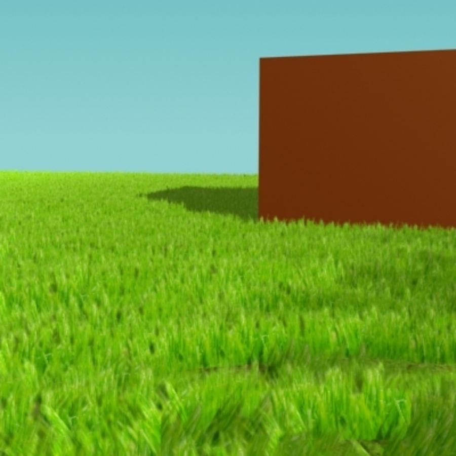 3D Grass royalty-free 3d model - Preview no. 8