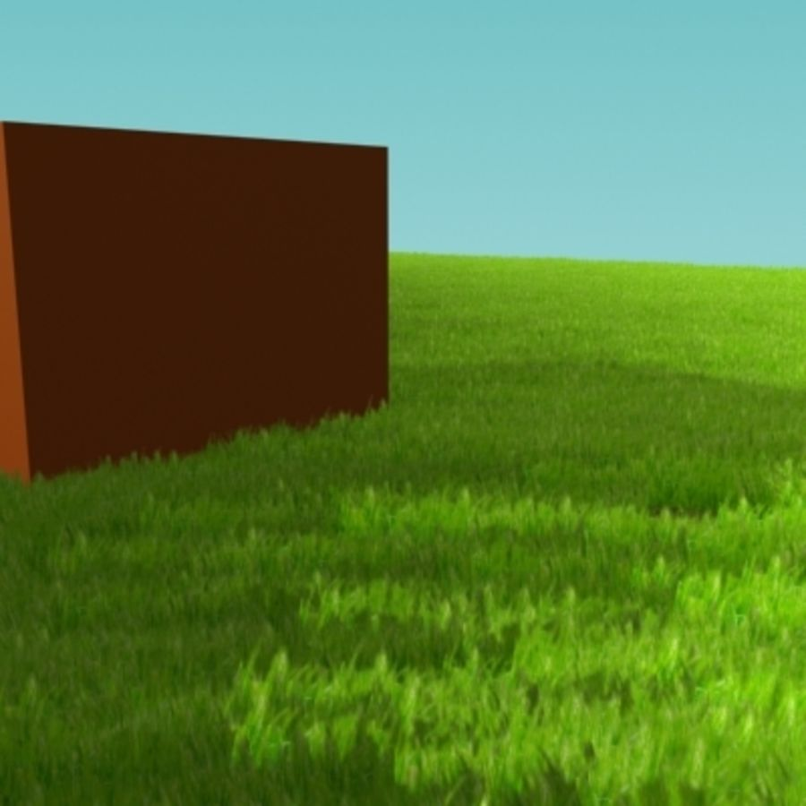 3D Grass royalty-free 3d model - Preview no. 6