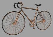녹슨 10 단 자전거 3d model