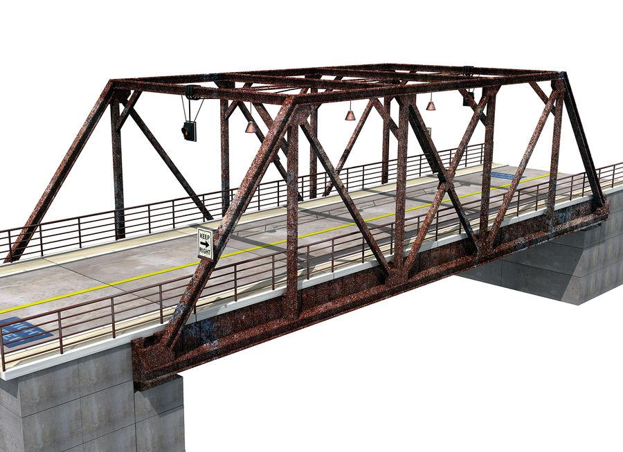 Steel Bridge royalty-free 3d model - Preview no. 1