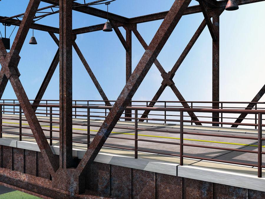 Steel Bridge royalty-free 3d model - Preview no. 5