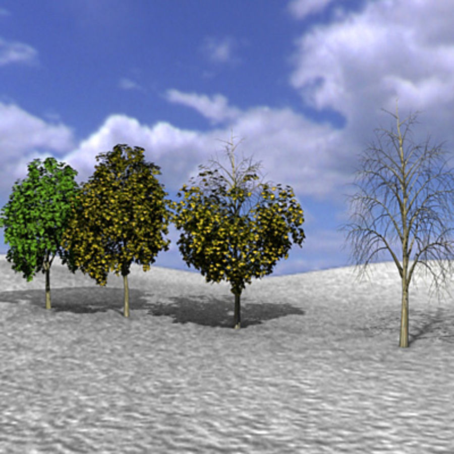 Tree, Trees, Arbol, Arboles royalty-free 3d model - Preview no. 2
