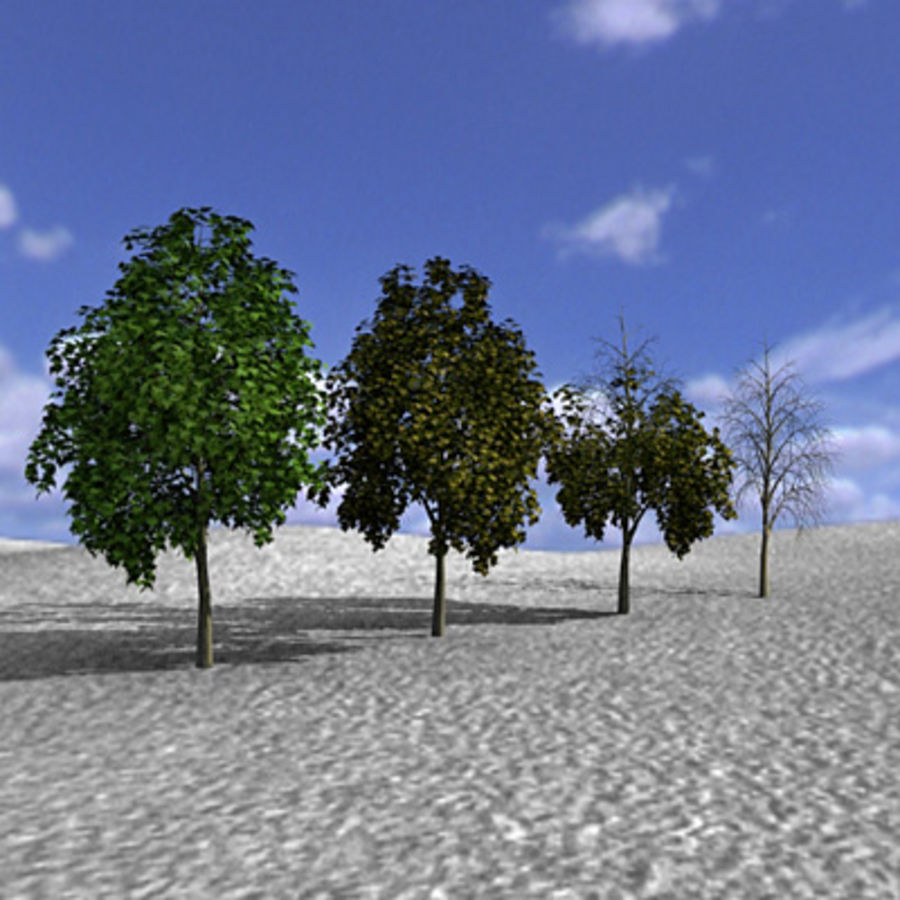 Tree, Trees, Arbol, Arboles royalty-free 3d model - Preview no. 1
