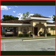 Latin Hacienda Vila 3d model