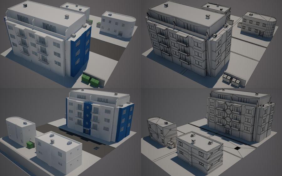 Calle de la ciudad n02 royalty-free modelo 3d - Preview no. 1