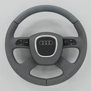Audi Steering Wheel 3d model