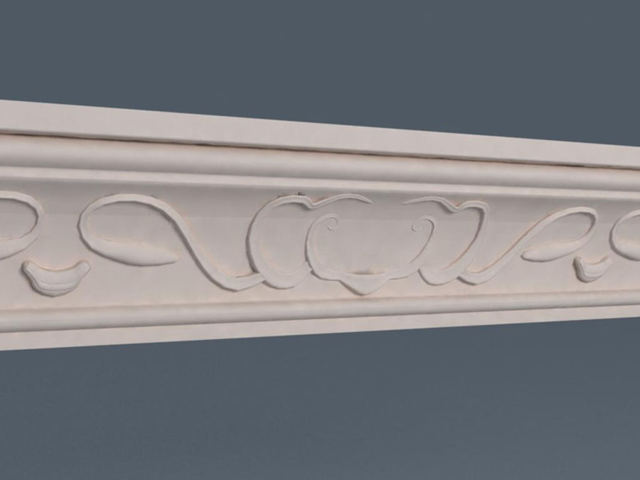 Molding royalty-free 3d model - Preview no. 2