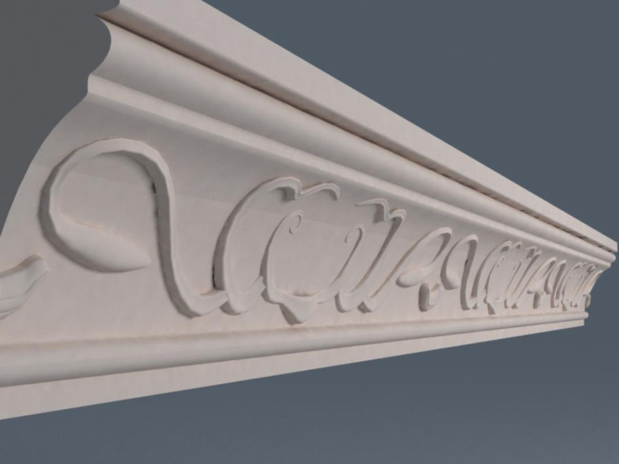 Molding royalty-free 3d model - Preview no. 3