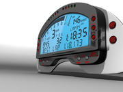 AIM MXL Digital Dash Display 3d model