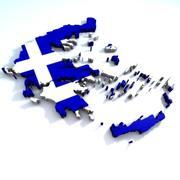 그리스 3d model
