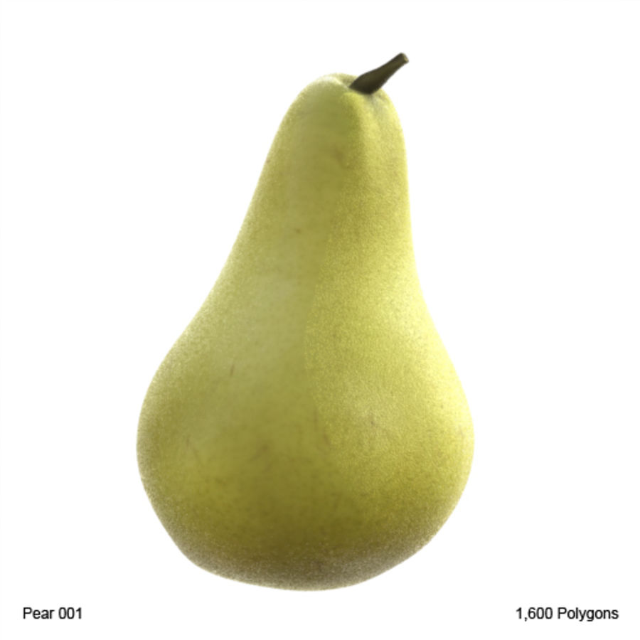 Pear 001 royalty-free 3d model - Preview no. 1