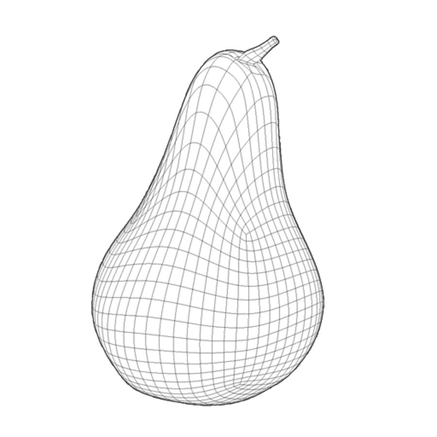 Pear 001 royalty-free 3d model - Preview no. 2