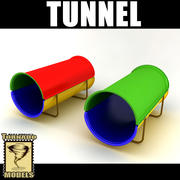 Playground Tunnel 3d model