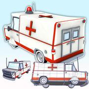 EMT Ambulance Van 3d model