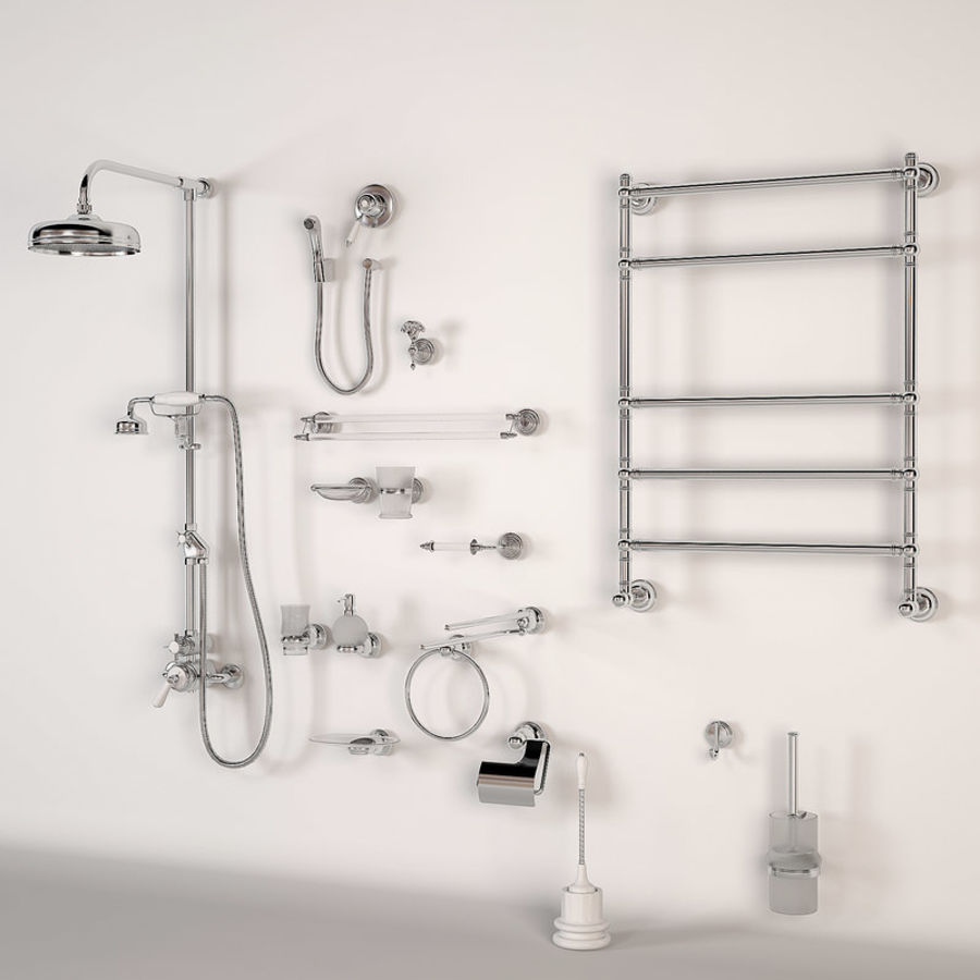 Bathroom Accessory royalty-free 3d model - Preview no. 1