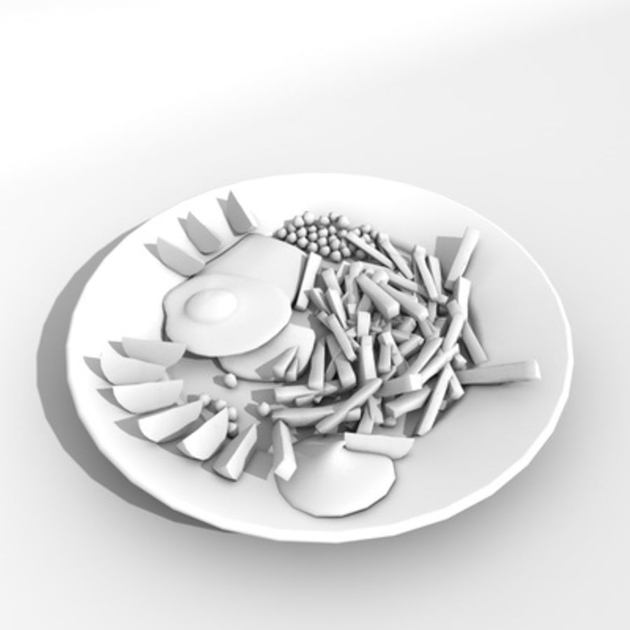 Food royalty-free 3d model - Preview no. 3