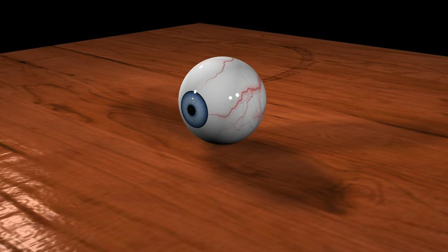 3D Eyeball royalty-free 3d model - Preview no. 1