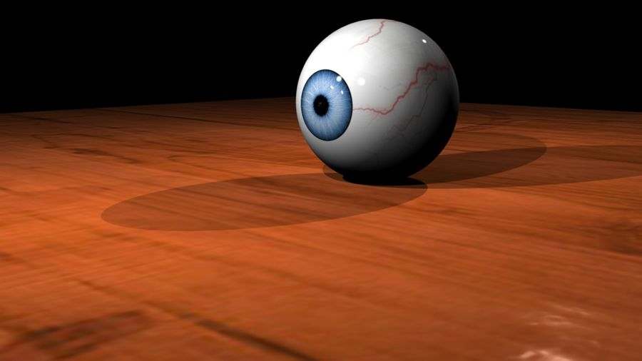 3D Eyeball royalty-free 3d model - Preview no. 2