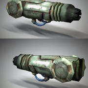 Arm Cannon modelo 3d
