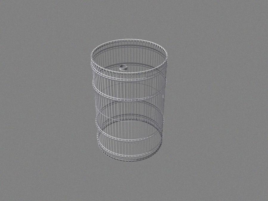 Radioactive Barrel royalty-free 3d model - Preview no. 5