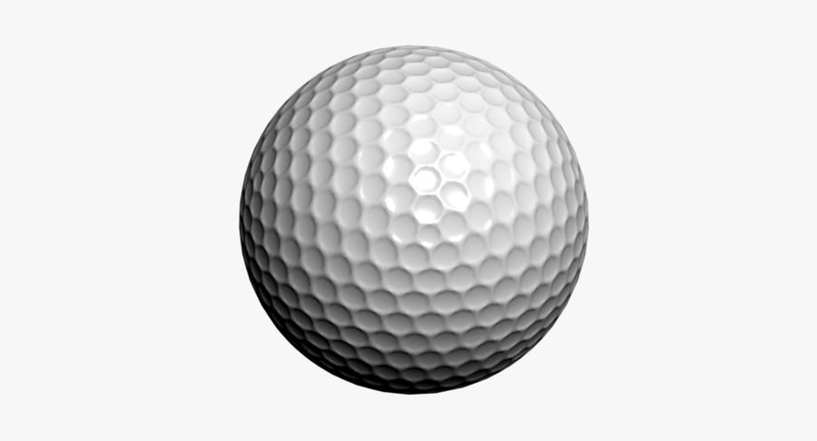 Golfball royalty-free 3d model - Preview no. 7