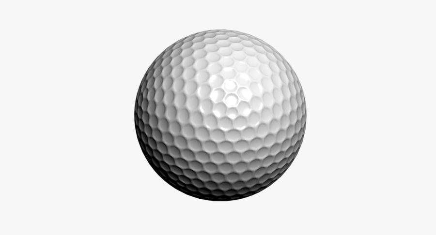 Golfball royalty-free 3d model - Preview no. 8