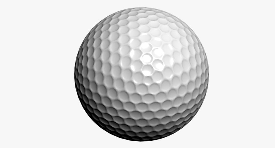 Golfball royalty-free 3d model - Preview no. 6
