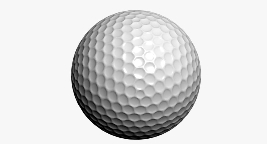 Golfball royalty-free 3d model - Preview no. 5