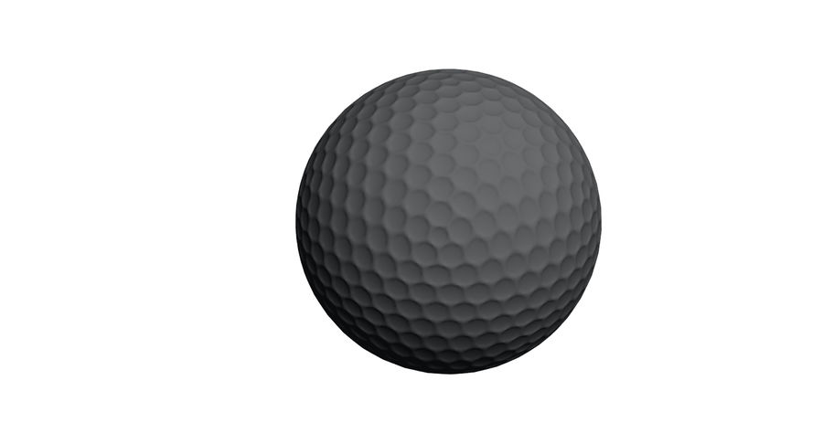 Golfball royalty-free 3d model - Preview no. 14