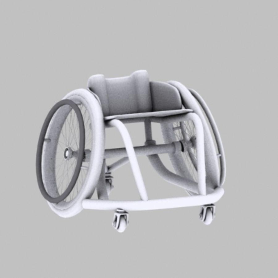 спорт на колясках royalty-free 3d model - Preview no. 6