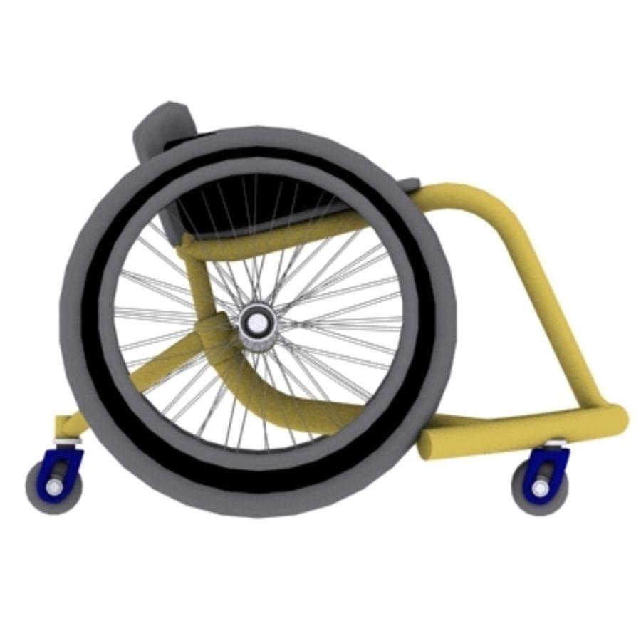 спорт на колясках royalty-free 3d model - Preview no. 2