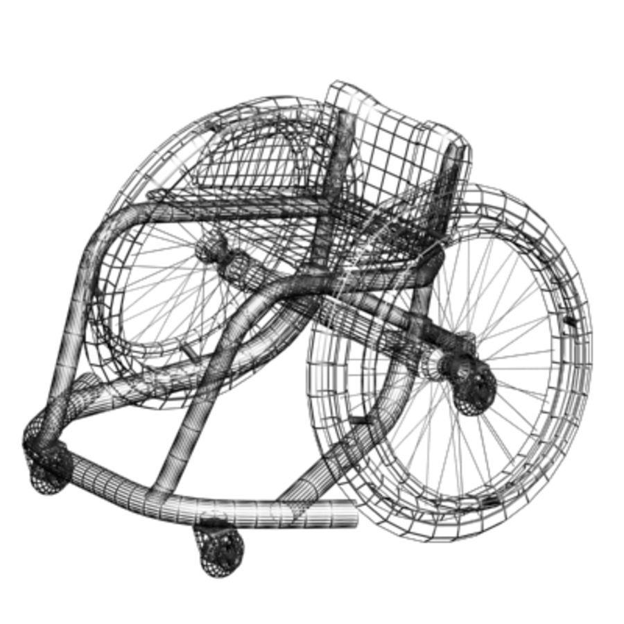 спорт на колясках royalty-free 3d model - Preview no. 4